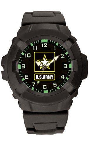 Aqua Force US Army Logo 47mm Diameter Quartz Watch, Black with Black Face $25.62 http://roksmu.blogspot.com/2014/07/army-watch.html
