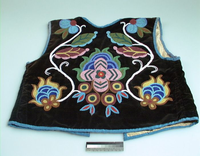 ojibway beadwork | SEARCH by Peoples/Cultures Artists/Individuals Places Object Specifics ...
