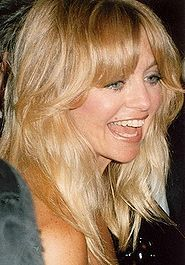 Goldie Hawn - can you believe this woman was born in 1945?! Funny, smart, talented and HAWT!