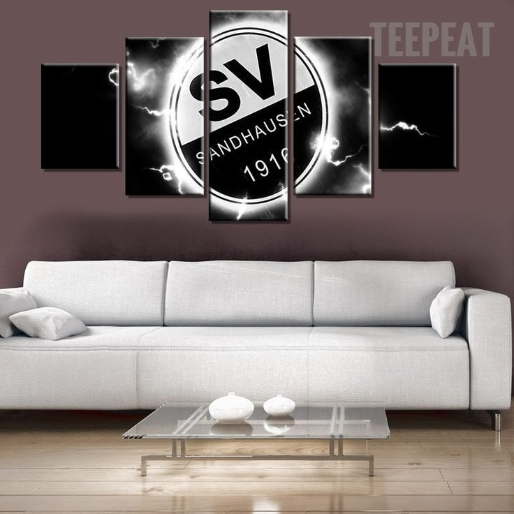 SV Sandhausen 1916 Sports Team - 5 Piece Canvas