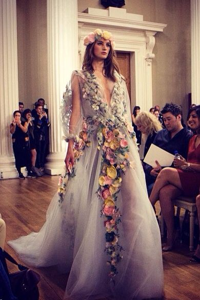 Absolute #dreamdress god I love this #floral #style