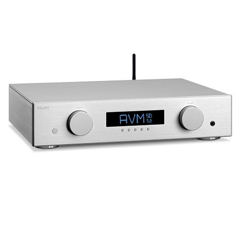 AVM SD-3.2. The new SD units herald a completely new category of AVM components with streaming capabilities. The brand new SD components combine a DAC with DSD, Streaming Client, web radio, analog PreAmp with 2 analog line inputs and a high performance headphone amp all into one unit. We call them Streaming DAC or short: SD. #Preamplificador #streaming #audioenred #AVM