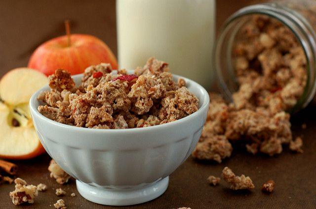 Grain Free Apple Cinnamon Granola