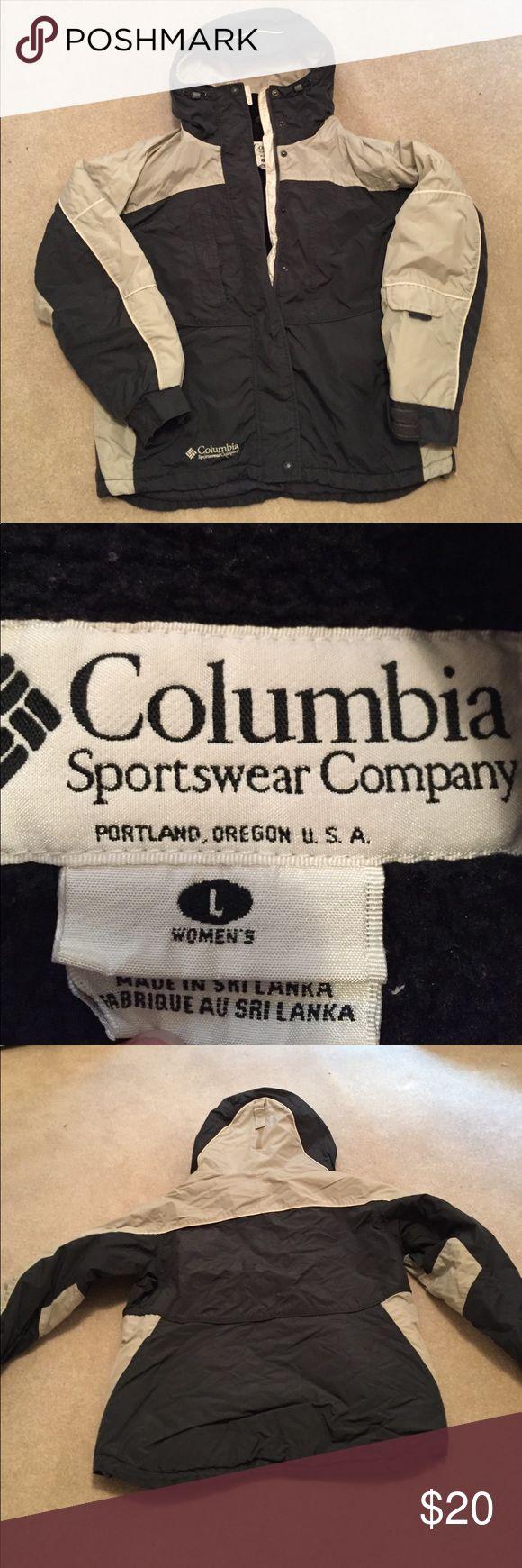 Large Columbia jacket Large Columbia jacket, needs a new zipper pull. Columbia Jackets & Coats