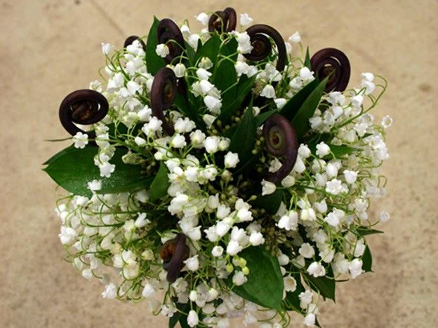 Lily Of The Valley Wedding Bouquet: 595 Best Images About **THE Bouquet**