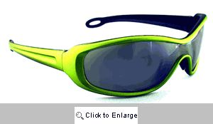 Chaser Sport Wrap Sunglasses - 145A Green