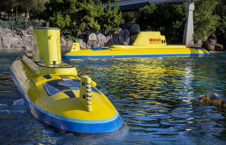 Finding Nemo Submarine Voyage Ready to Dive Again September 27 at Disneyland Park @DisneylandResort