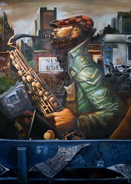 ... art by Frank Morrison