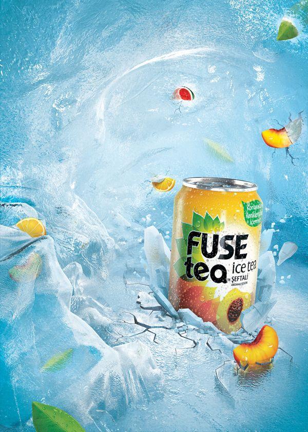 Fuze Tea Ice Cave on Behance