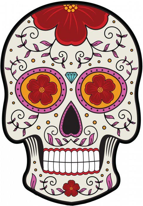 Calavera - Tete De Mort Mexicaine 12 - ref.d7450   MPA Déco