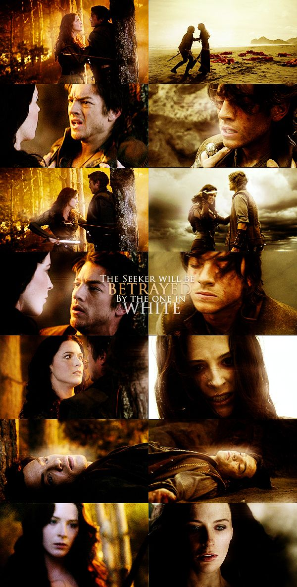 http://images4.fanpop.com/image/photos/18000000/Richard-Kahlan-legend-of-the-seeker-18075211-600-1183.jpg // I never noticed the parallel between Shota's prediction in the first season and Kahlan's actions in the second - wow!