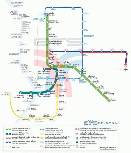 Общественный транспорт Бангкока. Как путешествовать по Бангкоку дешево