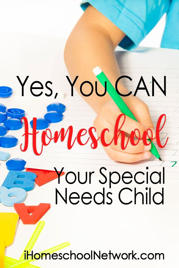 Yes, You CAN Homeschool Your Special Needs Child • #homeschooling