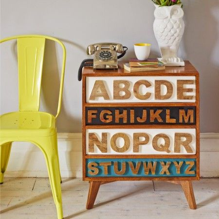 A typographic take on storage, it's up to you if you want to alphabetise your nik naks... Now £295