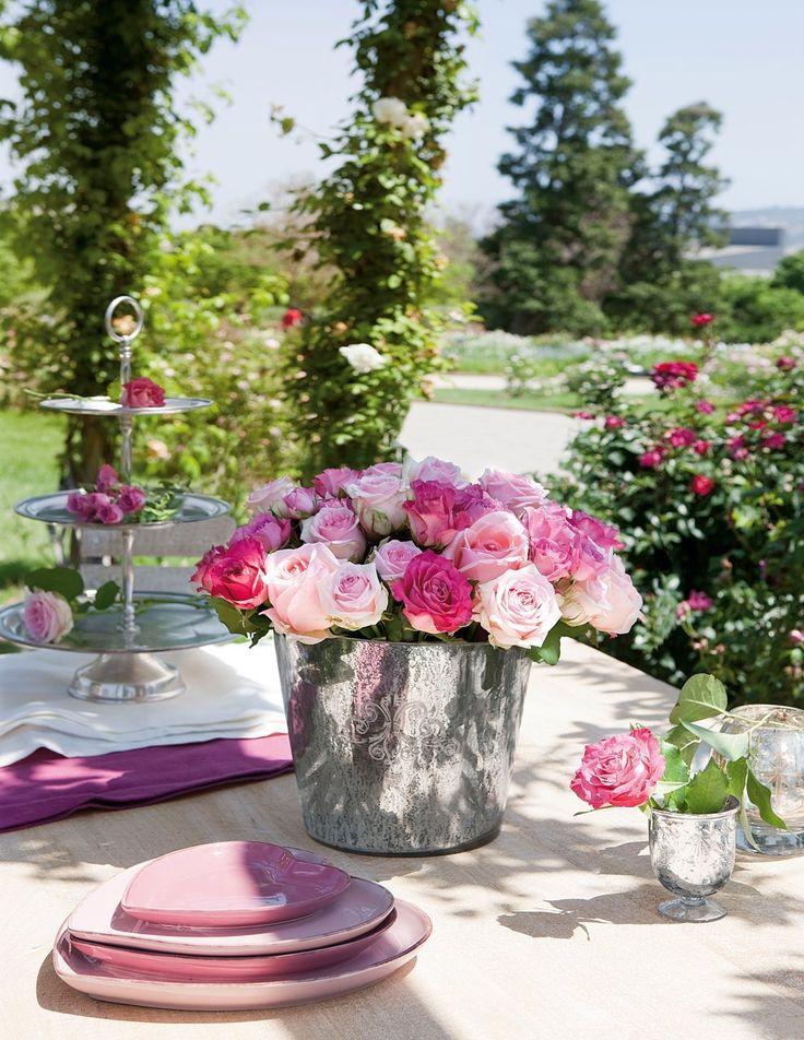 Rosas: belleza, elegancia y frescor · ElMueble.com · Trucos