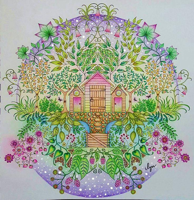 Colorido Super Suave E Delicado Garden Pictures Secret Gardens Coloring Books