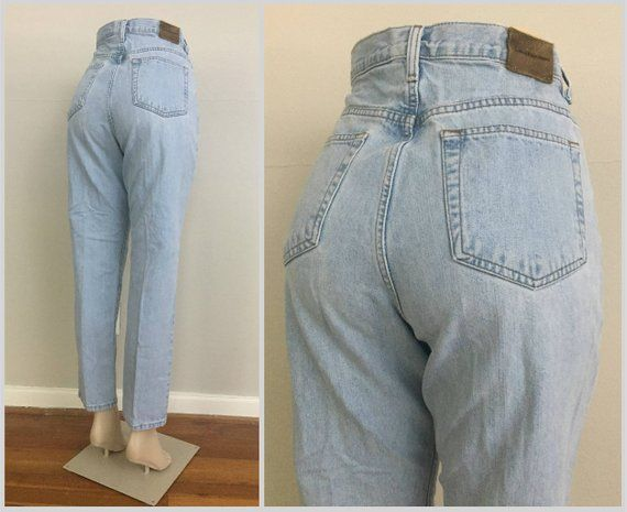 90s Calvin Klein Light Wash Mom Jeans size 30 ~ Vintage High