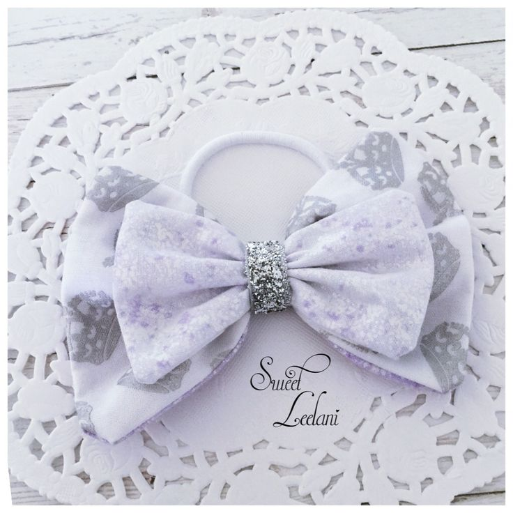 Handmade hair bow www.facebook.com/sweetleelani