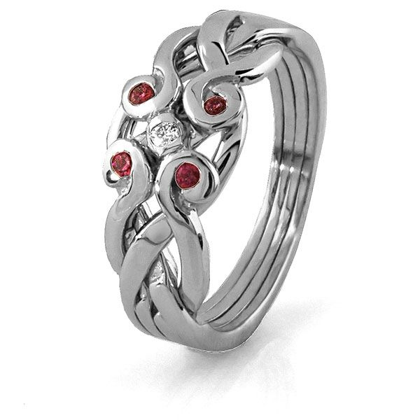 52 best Puzzle Rings images on Pinterest