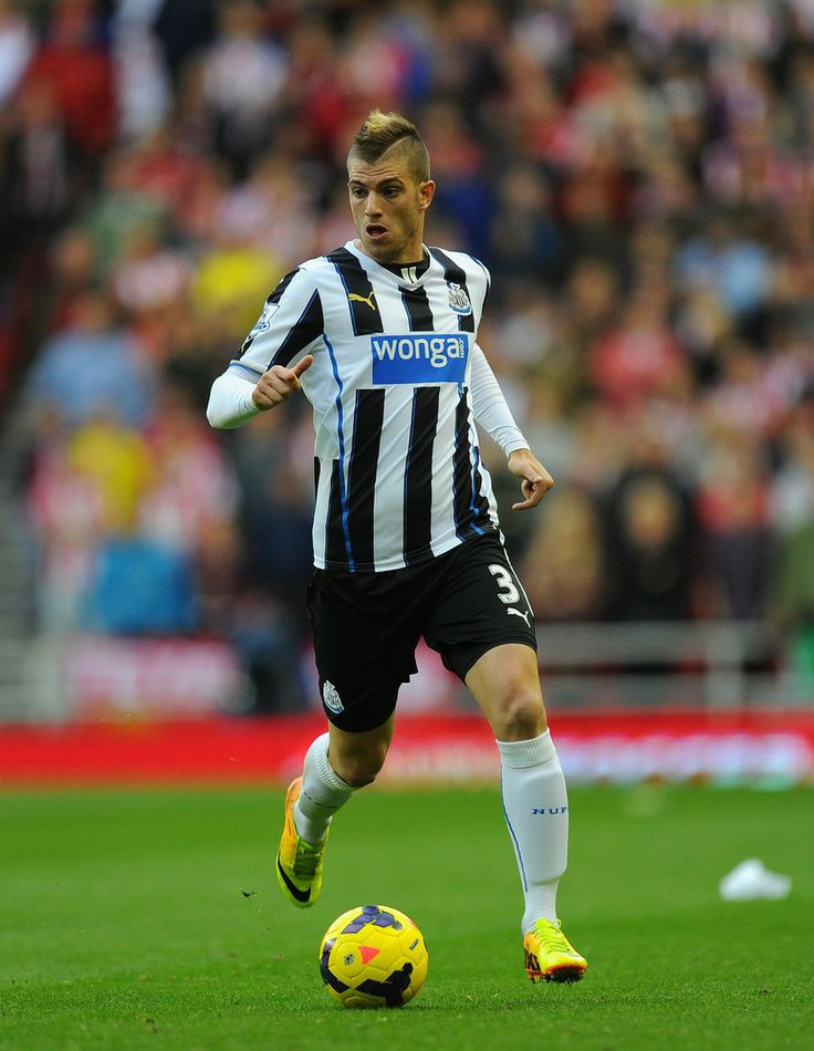 Davide Santon of Newcastle United