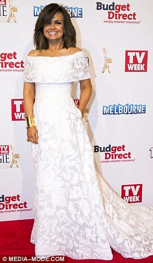 Summer Bay stunner: Home And Away's Bonnie Sveen showed off her famous curves in a white g...