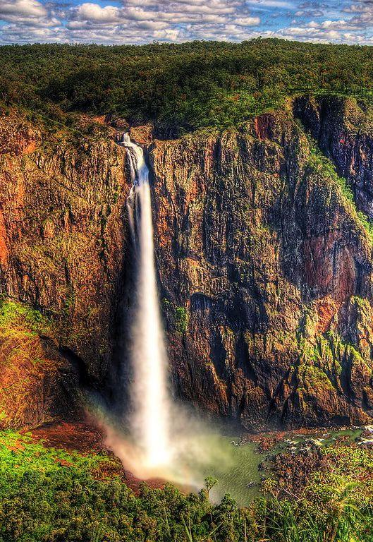 Wallaman Falls, Australia...looks like paradise falls to me.... :)