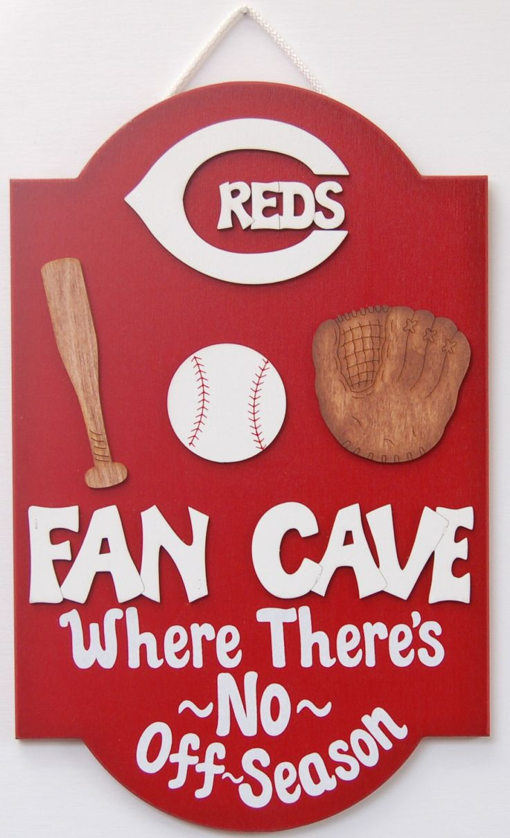 Cincinnati Reds Baseball wooden sport sign baseball sports wall signs Cincinnati Reds Baseball sports outdoor yard sign sports decor by UCsportsbyBill on Etsy
