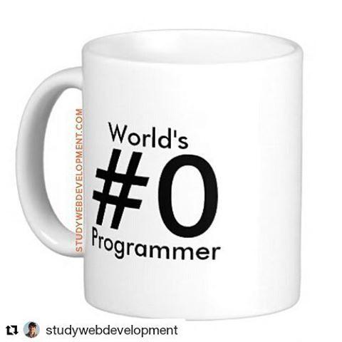 #Repost @studywebdevelopment with @repostapp  The famous #0 :) #webdevelopment…