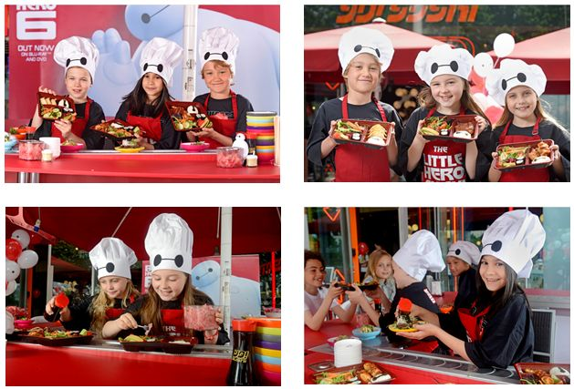 #DISNEY #BIGHERO6 themed #Sushi at THE LITTLE HERO SUSHI BAR @YOSushi @southbanklondon