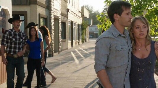 Amy, Caleb, Cassandra, Ty. Heartland - 9x07 - Season 9, Episode 7