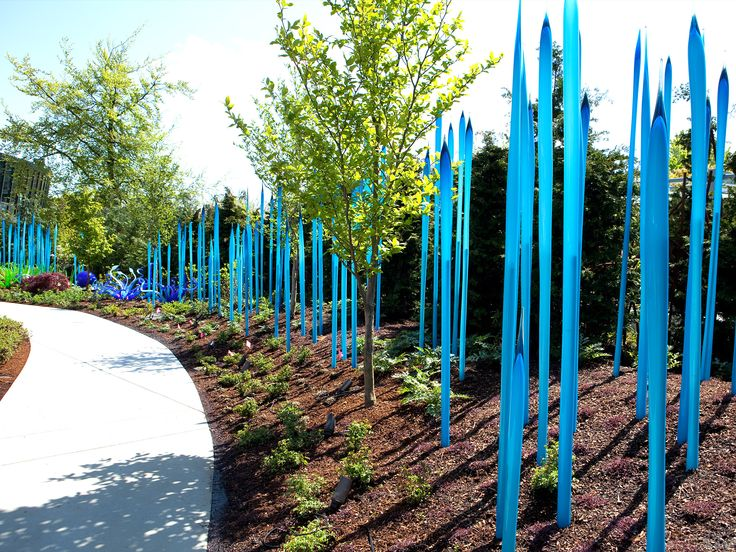 Seattle: Dave Chihuly Garden and Glass exhibit at the Seattle Center. Looks seriously cool.