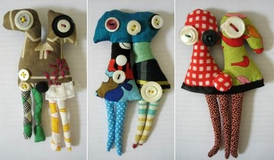 Co joined twin brooches, 2008