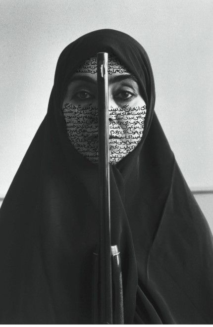 Rebellious Silence, Shirin Neshat. Feminist Art of the Middle East. Politics, Society and Sexuality in Middle Eastern Feminist Art: Learning from Three Fertile Crescent Exhibitions. By Virginia Fabbri Butera, Ph.D.