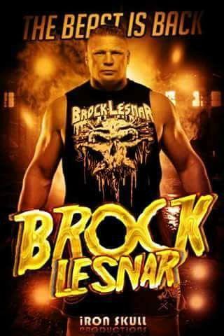 The beast - brock lesnar