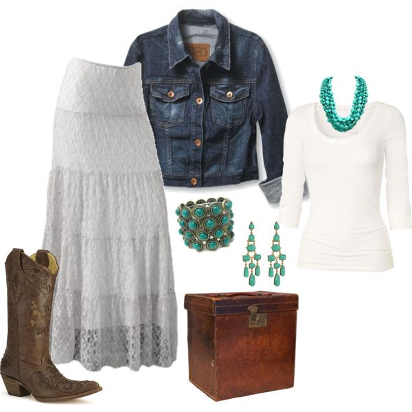 A Little Bit Country, created by wildcatmomoftwins on Polyvore