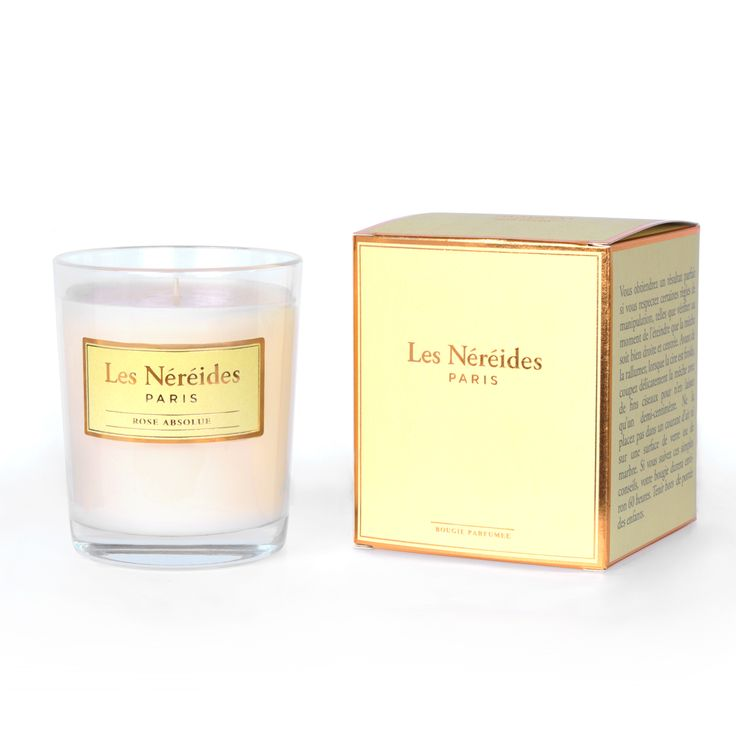 Les Nereides Candle - Rose Absolue
