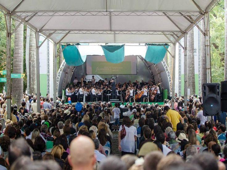 Orquestra Filarmônica de Minas Gerais se apresenta no domingo, 25, na Barragem Santa Lúcia.
