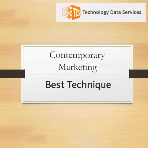 Best techniques for contemporary #marketing - #Technology #Data Services. http://bit.ly/2tlhkmz