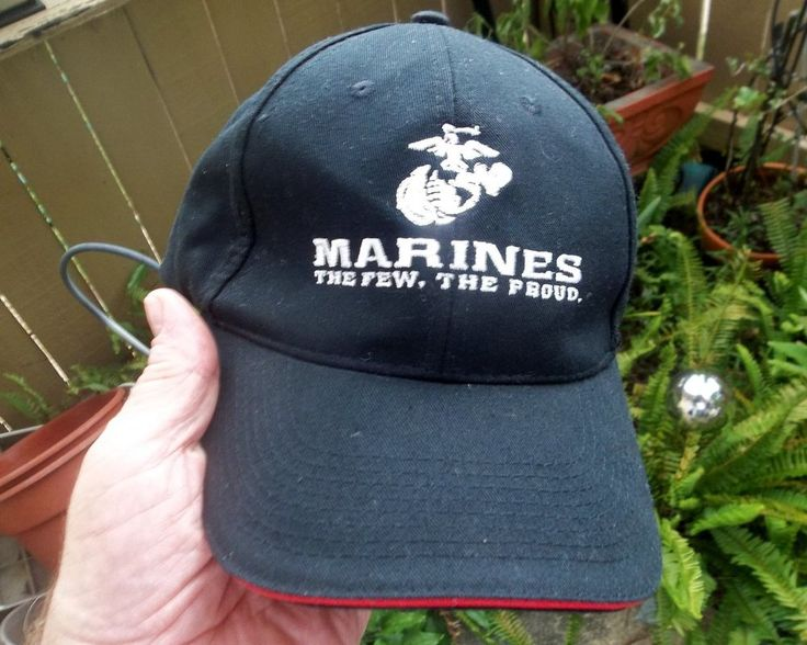 U.S. Marines Cap The Few The Proud Hat Earned Never Given Marines.com