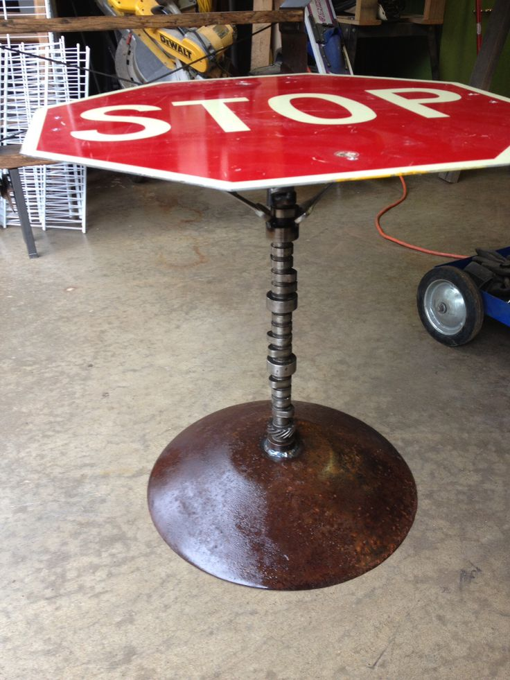 17 Best images about Stop sign table on Pinterest
