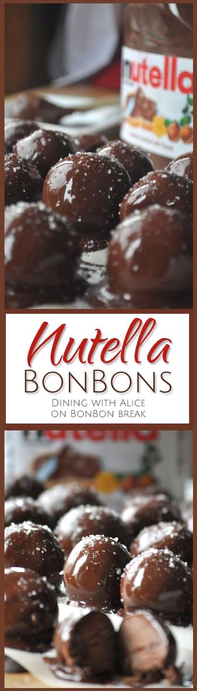 These Nutella BonBons are the perfect hostess gift, easy…