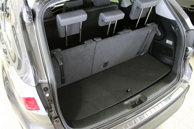 2014 toyota highlander cargo space 2014 2015 highlander. Black Bedroom Furniture Sets. Home Design Ideas