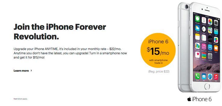 """L'opérateur américain Sprint lance une nouvelle offre pour les technophiles amateurs d'iPhone dernière génération. Avec cette formule baptisée """"iPhone Forever"""", Sprint permet tout simplement à ses clients de bénéficier d'un nouvel iPhone dès que le smartphone Apple est renouvelé. Pour 22 dollars par mois en plus de l'abonnement classique qui lui ne changera pas de prix, les clients Sprint pourront donc upgrader vers un nouvel iPhone dès qu'ils le souhaitent. Ce prix de 22 dollars par mois…"""