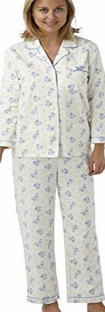 Marlon Ladies 1005 Brushed Cotton Winceyette Traditional Shirt Style Long Sleeved Pyjamas. Cream Background These cosy pyjamas in pretty floral print would make an ideal winter gift. (Barcode EAN = 5033158072815). http://www.comparestoreprices.co.uk/ladies-pyjamas/marlon-ladies-1005-brushed-cotton-winceyette-traditional-shirt-style-long-sleeved-pyjamas-cream-background.asp