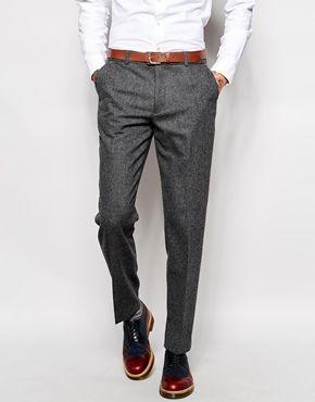 Farah Trousers in Birdseye Fabric