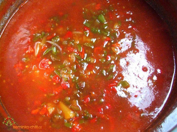 Recept na Salsa omáčku Salsa Roja (Salsa Dip)