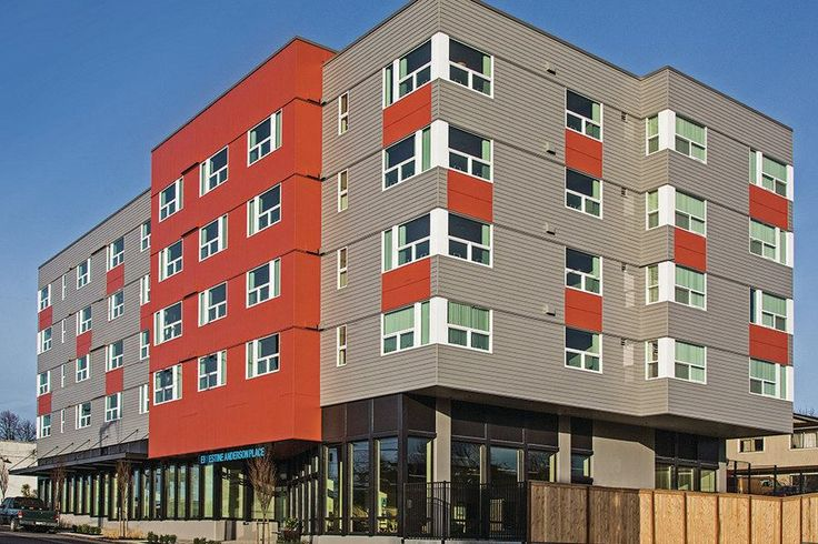 Ernestine Anderson House Seattle WA   Homeless Seniors, Vets Find New Home in Seattle  Housing Finance ...