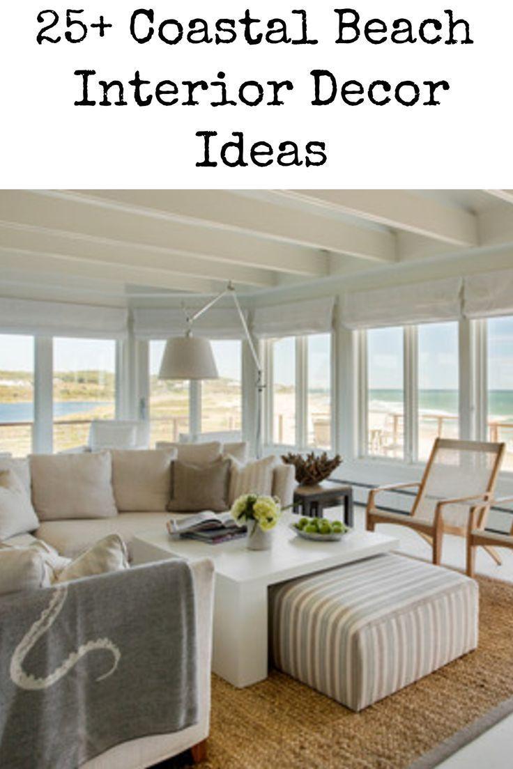 51 Beach Coastal Decor Ideas With Images Beach Living Room