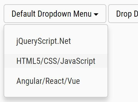 A dead simple jQuery dropdown plugin which lets you create Bootstrap-style dropdown menus from standard HTML unordered lists. #jquery