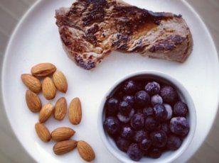 Hús és magok reggeli   Variáld a húsokat és az olajos magokat az optimális testösszetételért!  Az alábbiakban Charles Poliquin amerikai erőedző guru étkezési javaslatát olvashatjuk, ő is előszeretettel alkalmazza a paleos elveket.